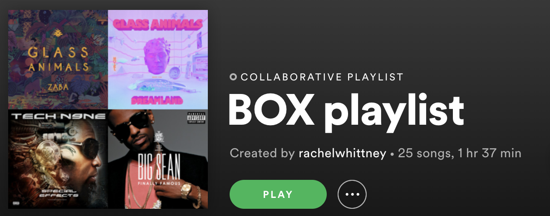 Box Playlist