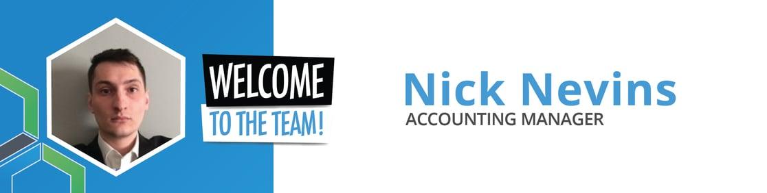 Welcome Nick